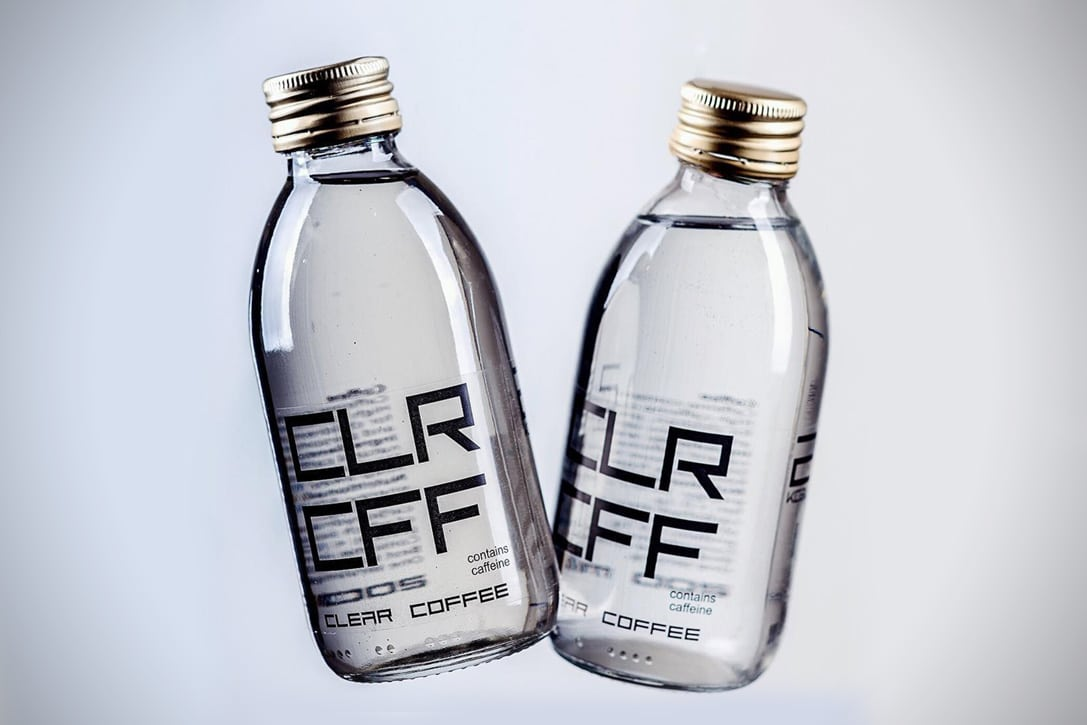 Clear Coffee Bottled Beverage Header