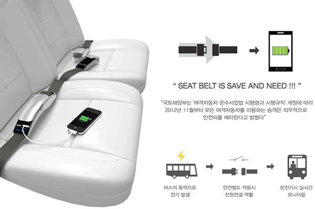 Concept Charger Smart Seatbelt Idea 1