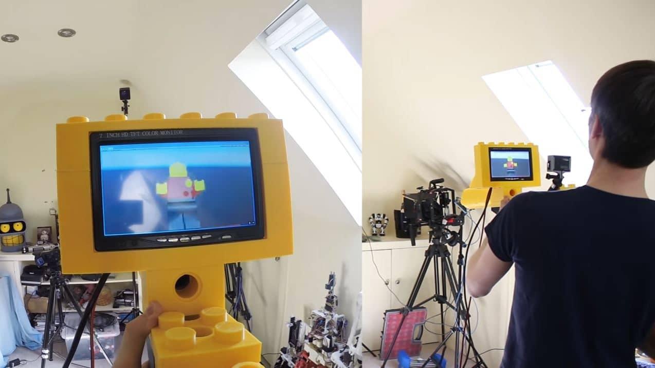 Giant LEGO Blaster VR Shooter Image 3