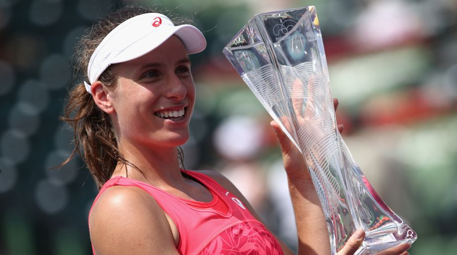 Johanna Konta Becomes The First British Woman To Win The Miami Open