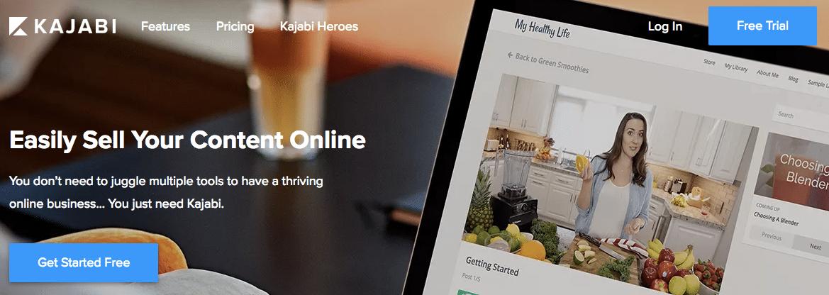 Kajabi Online Course Selling Image 1