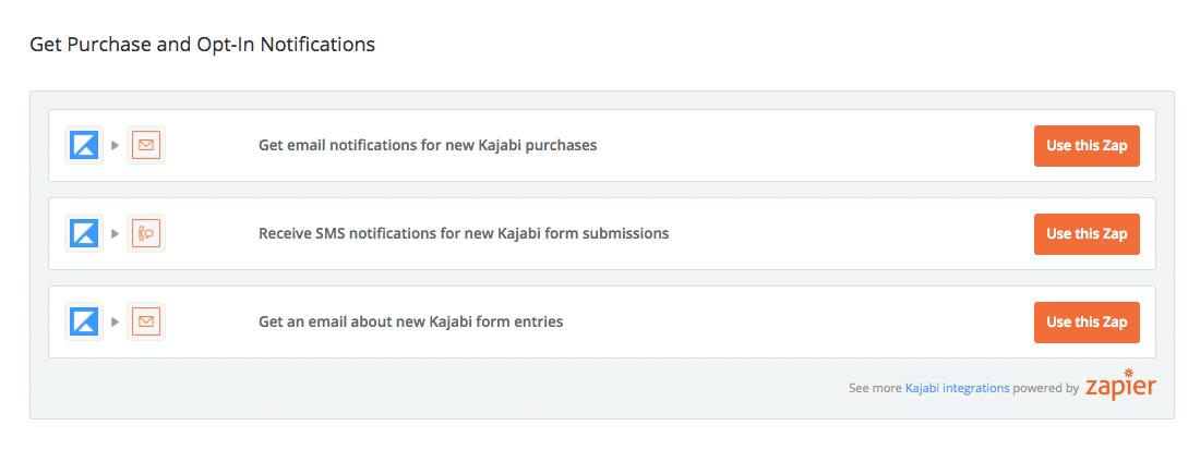 Kajabi Online Course Selling Zaps 3