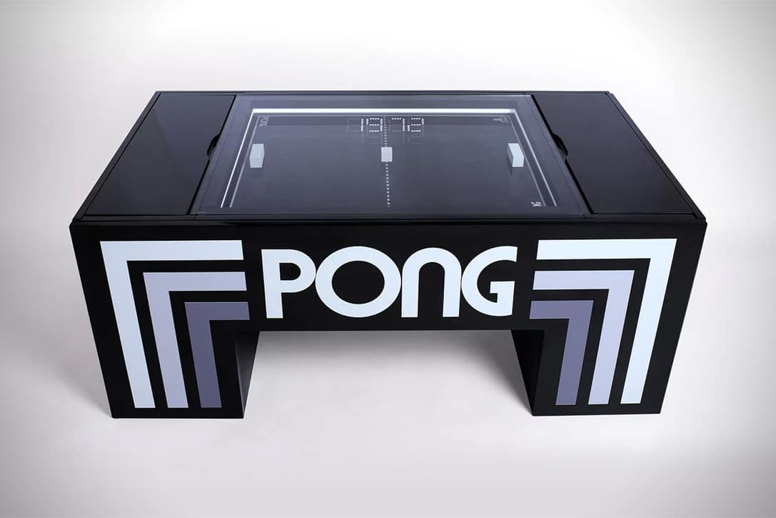 PONG Coffee Table Game Header