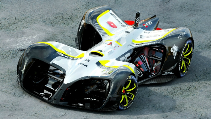 Roborace – The Autonomous Racing Car Finally Breaks Cover