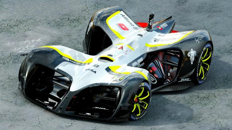 Roborace – The Autonomous Racing Car Finally Breaks Cover