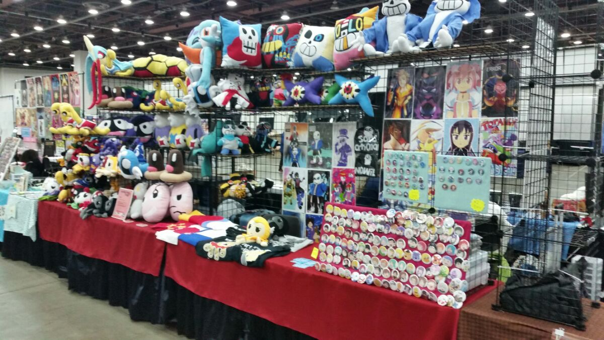 RPG Plush Toys Display