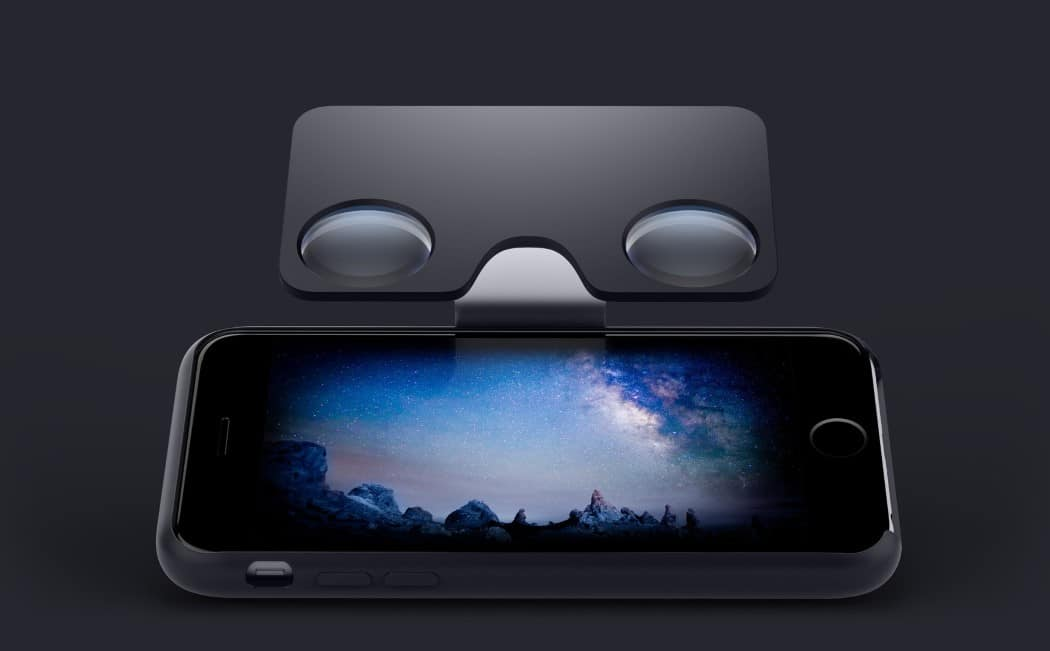 Smartphone VR Case Headset Brings VR To Your Pocket