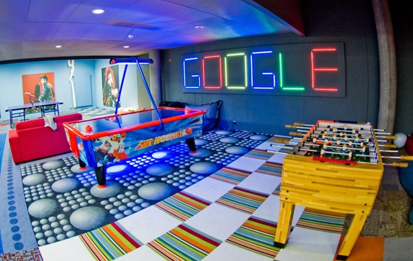 5 Keys To Making Your Small Business Office Look Like A Google Office