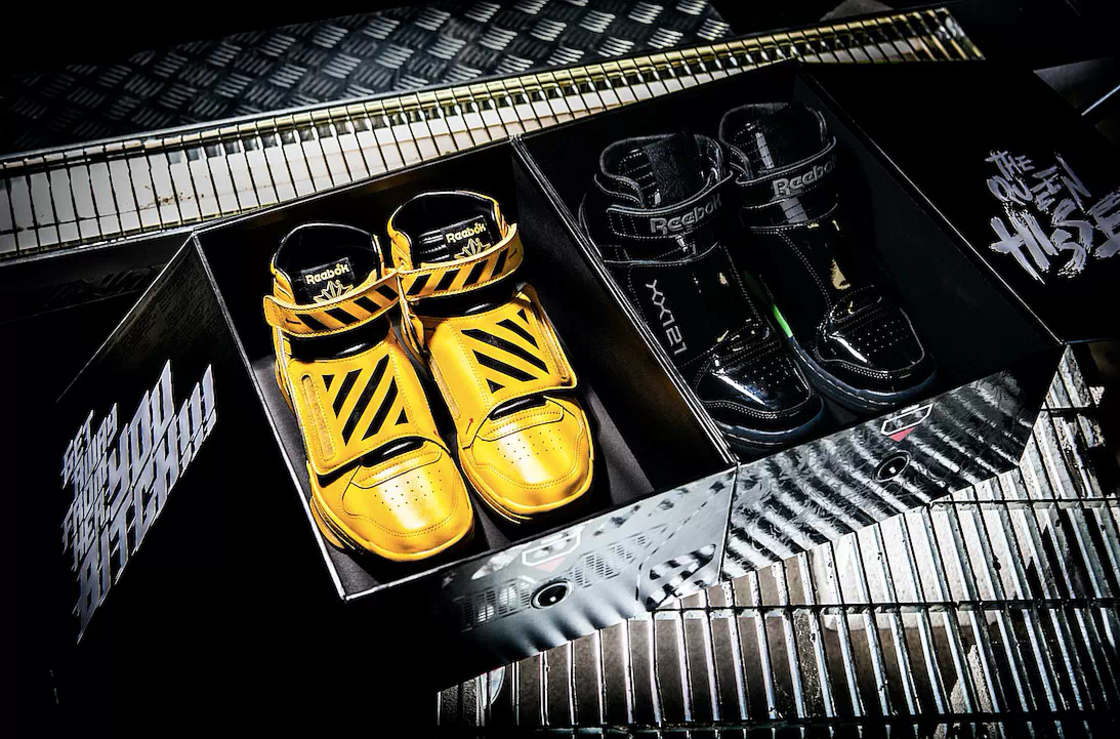 Aliens Movie Sneakers Reebok Covenant Image