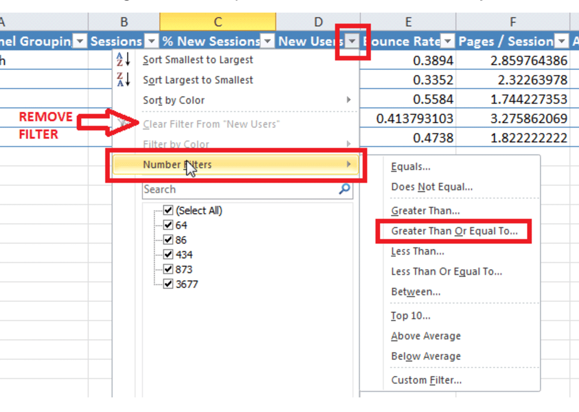 3 Genius Excel Tricks For Faster Website SEO Results
