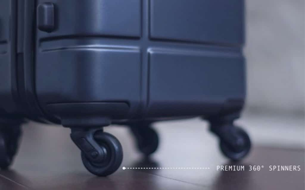 Marlowe Carry-On Suitcase Wheels