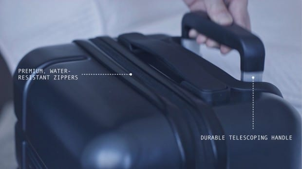 Marlowe Carry-On Suitcase Handle