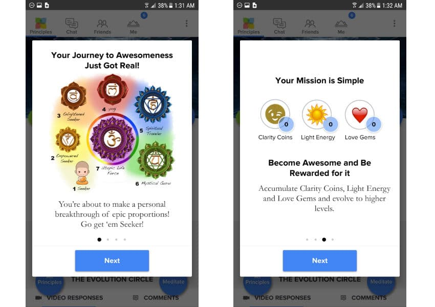 Source Living Journey App Image View