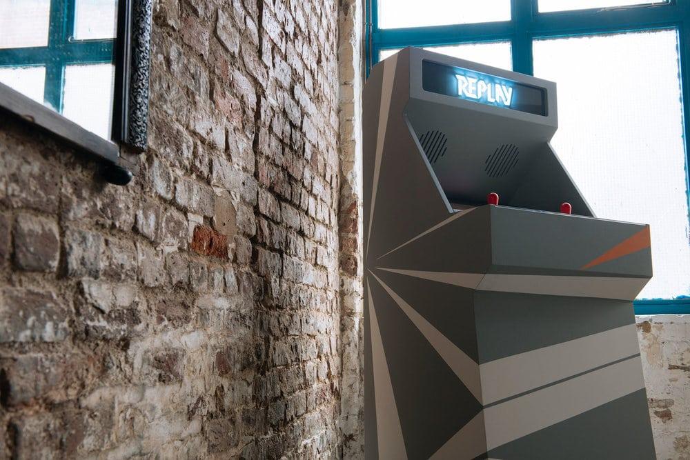 STOA Replay Customized Arcade Cabinet Gray