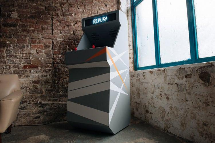 STOA Replay Customized Arcade Cabinet Gray Small
