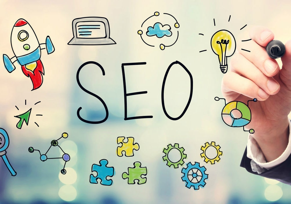 Tips SEO Top Google Search Results Header