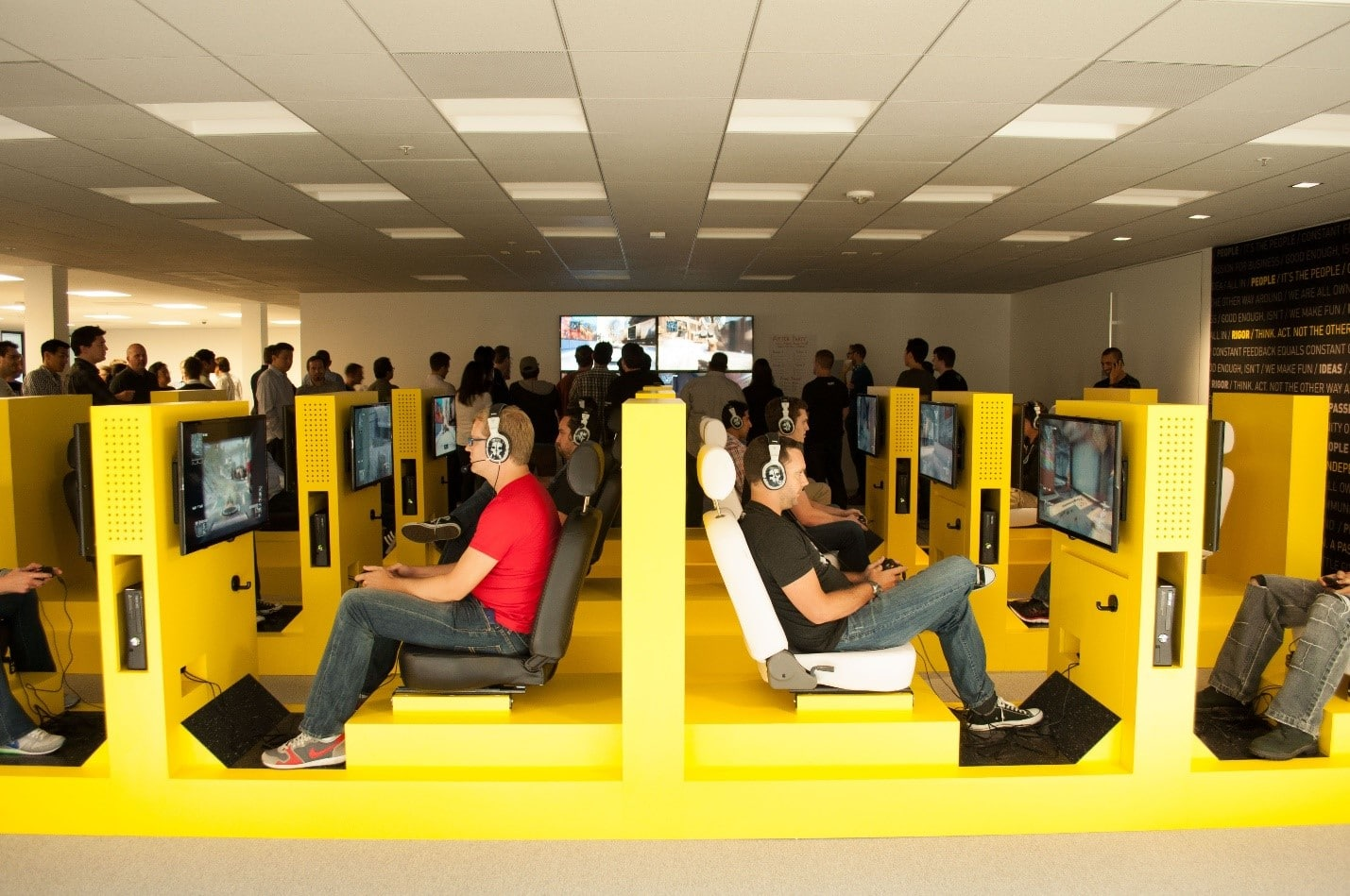 Top Coolest Offices Activision Blizzard World Image