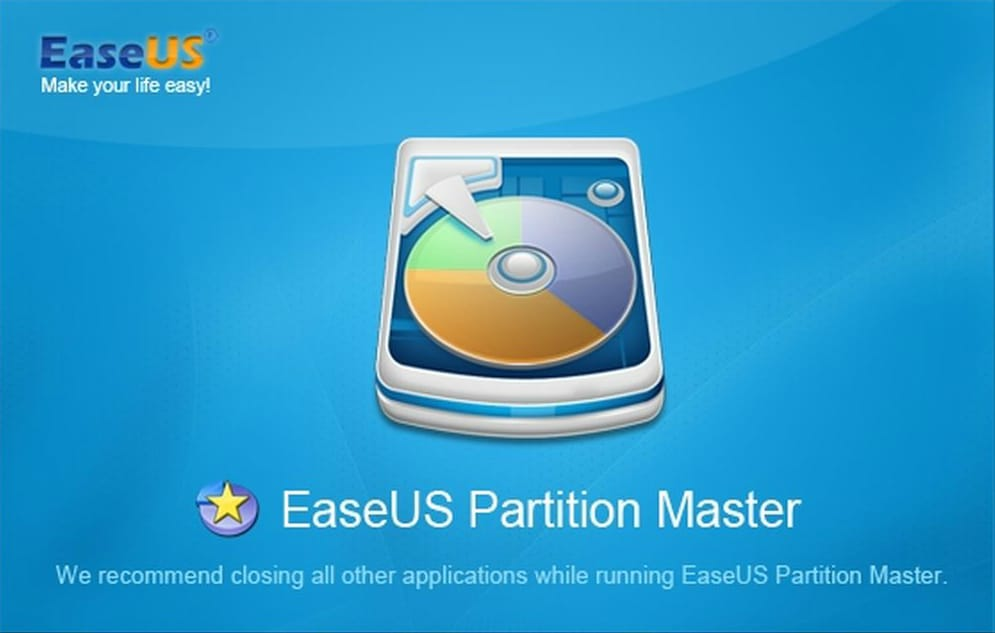easeus partition master virtual machine