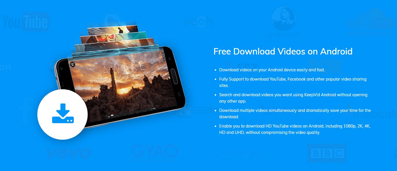KeepVid Android Download Conversion Tool Article Image