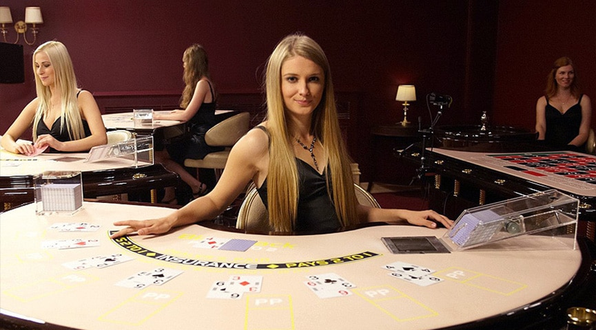 Quick Guide Online Live Dealer Blackjack Header