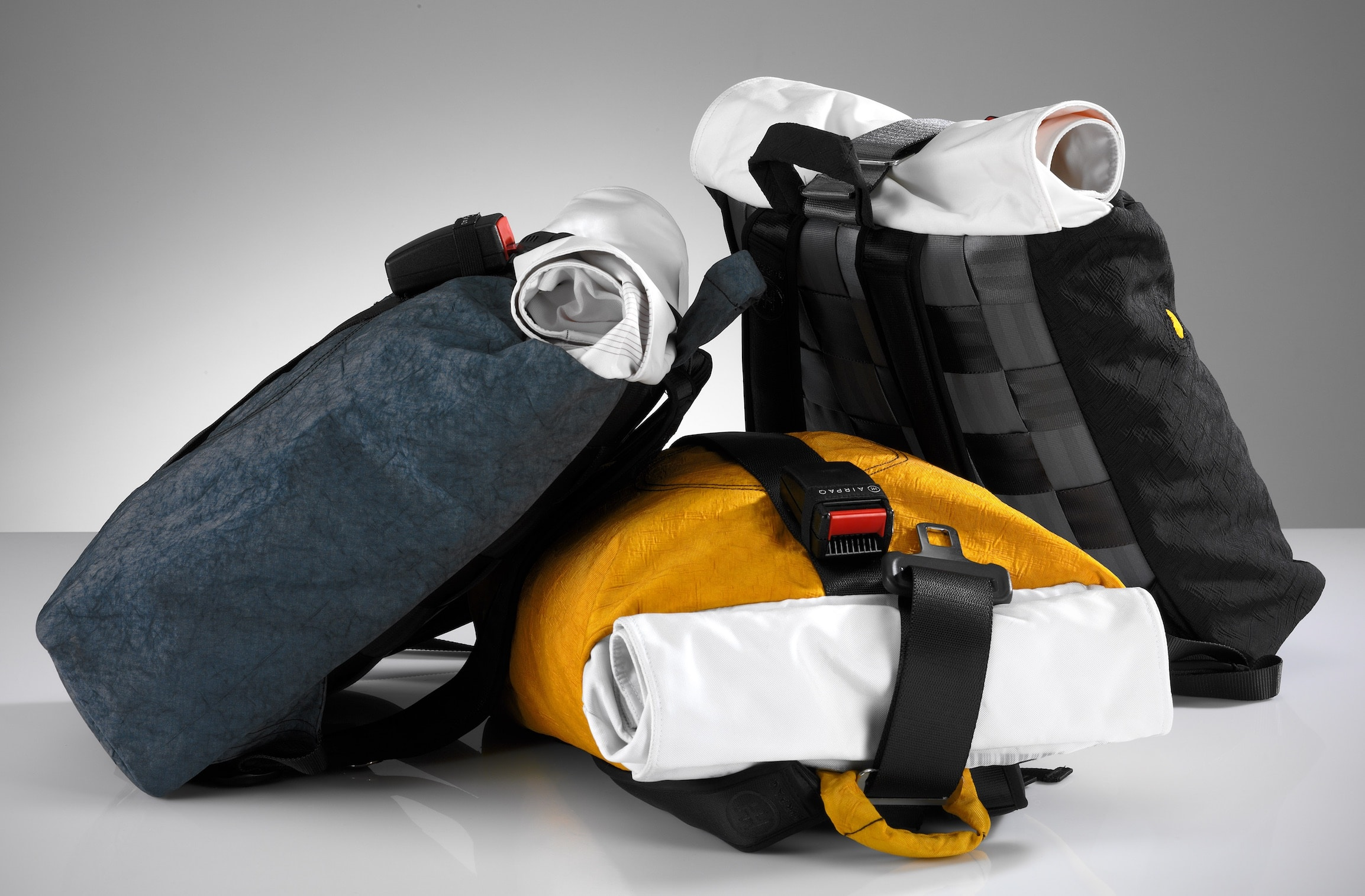 Airpaq Upcycled Backpack Header Image