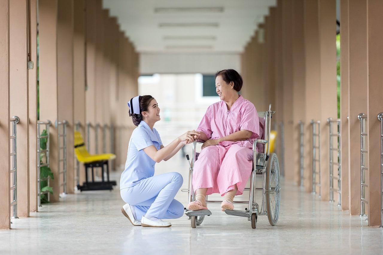 Care Elderly Senior Family Member Header