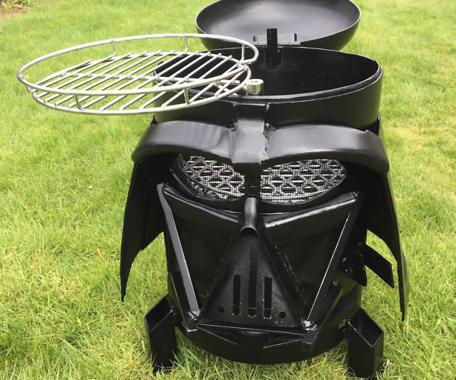 Darth Vader Grill Firepit Article Image