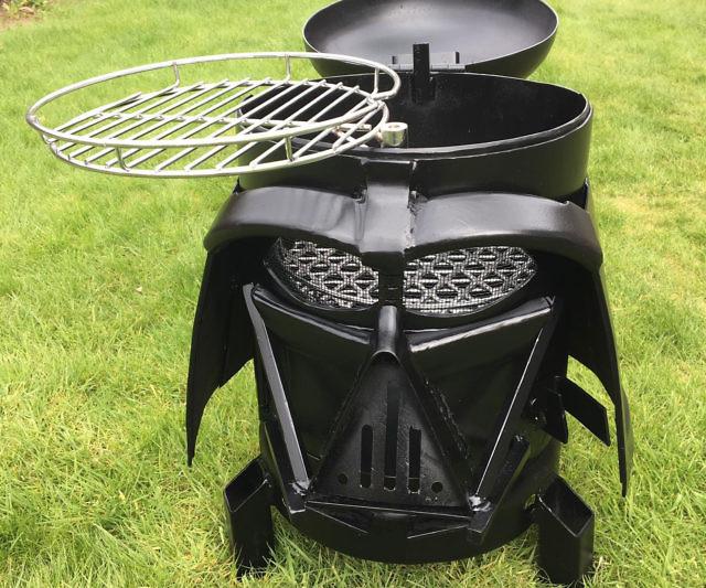 Darth Vader Grill Firepit Article Image