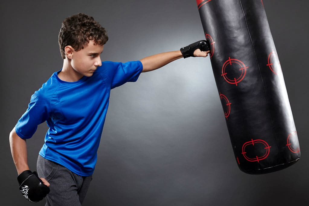 Punching Bags Kids Header Image