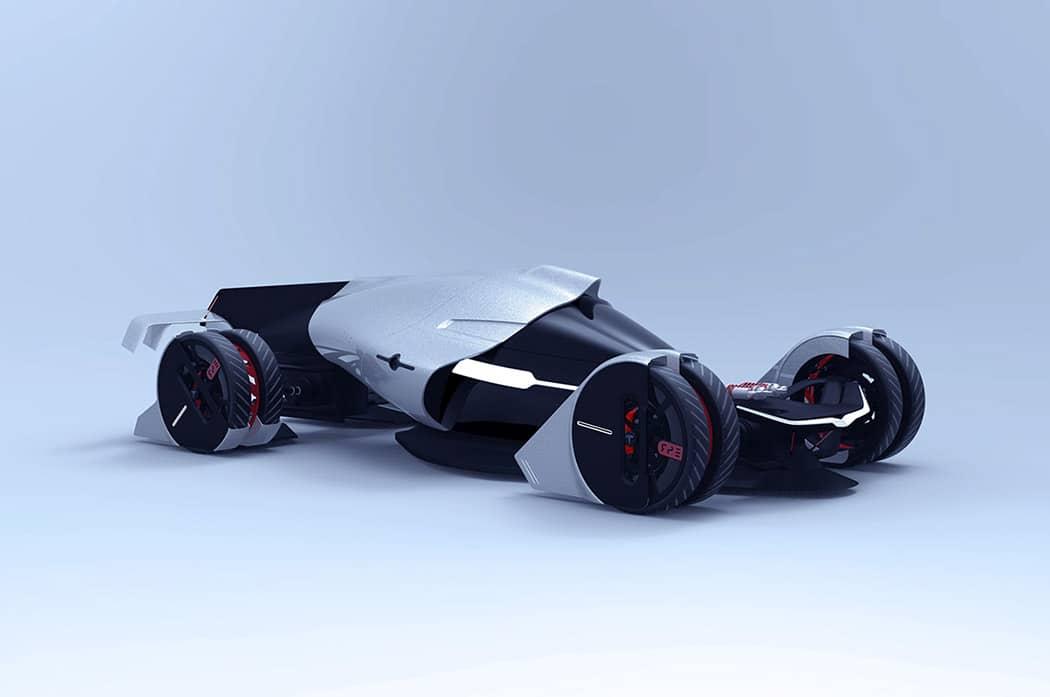 Tesla T1 Concept Car Image 1
