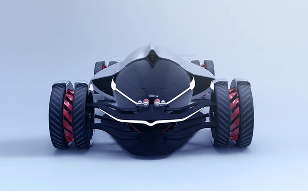Tesla T1 Concept Car Image 2
