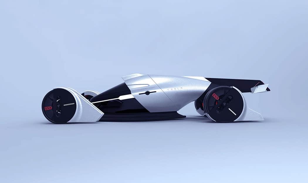 Tesla T1 Concept Car Image 3