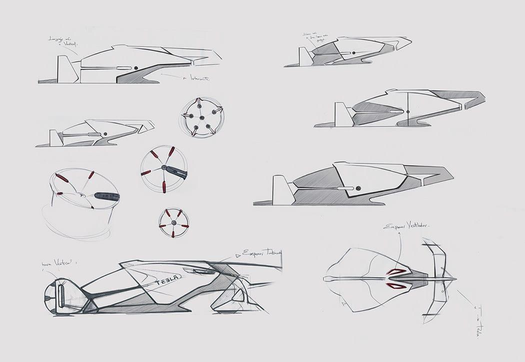 Tesla T1 Concept Car Image 8