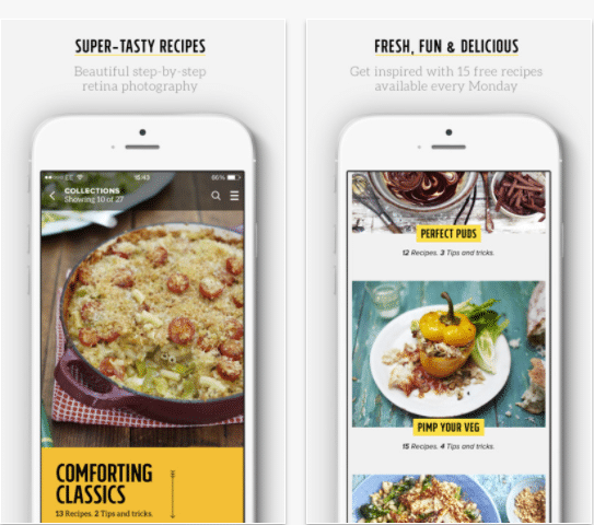 Top 6 Cooking Apps Jamie
