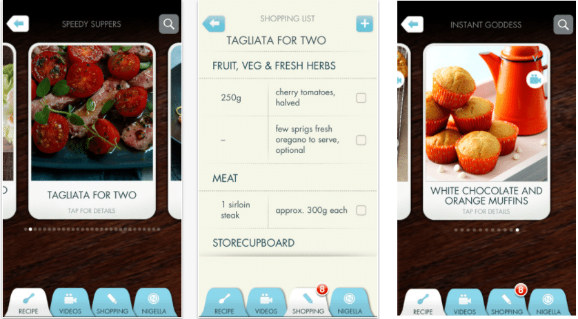 Top 6 Cooking Apps Nigella