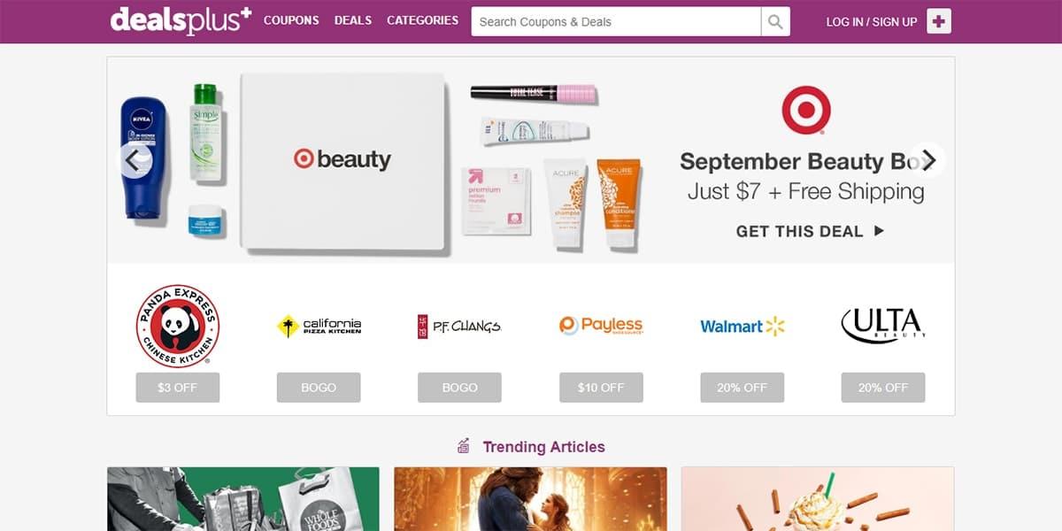 20 Best Coupon Sites DealsPlus