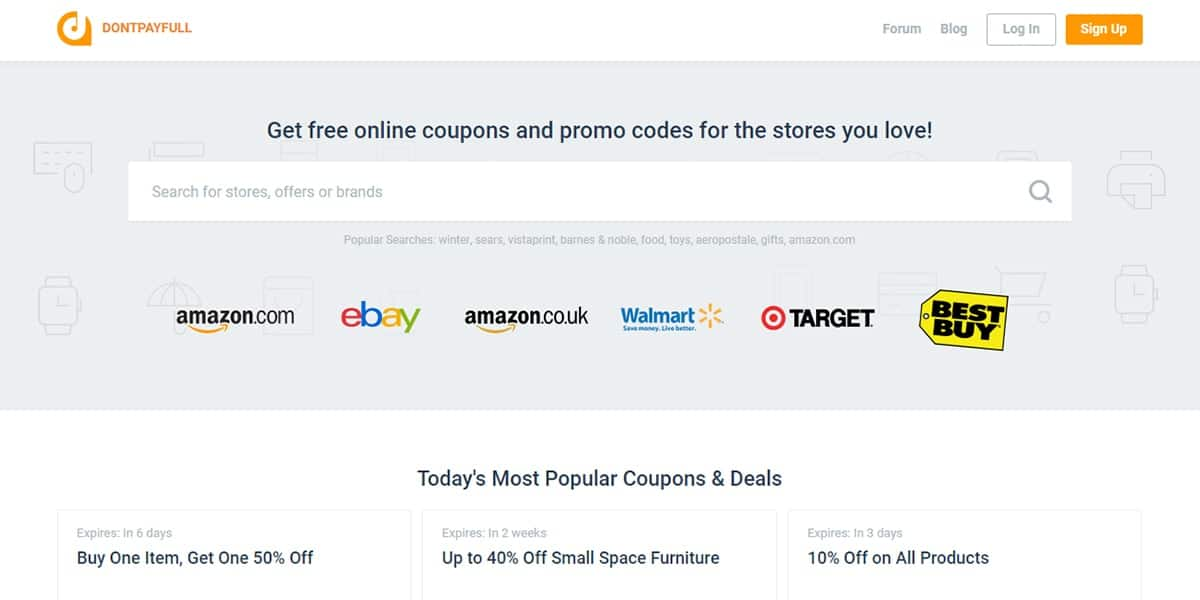 20 Best Coupon Sites DontPayFull