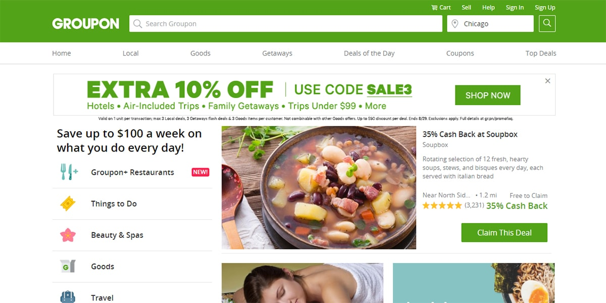 20 Best Coupon Sites Groupon