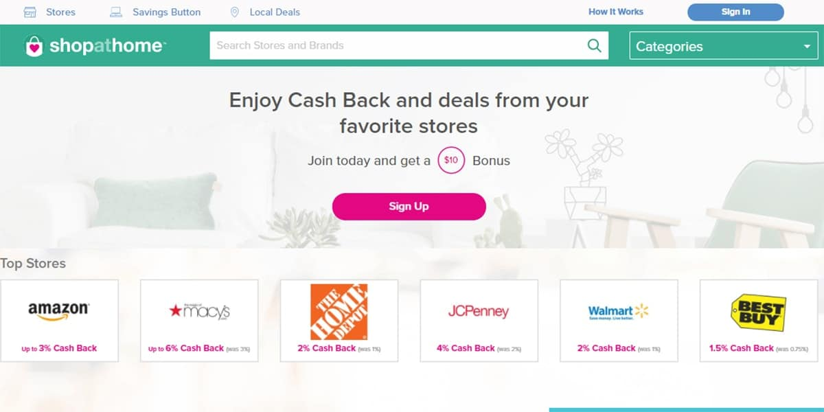 20 Best Coupon Sites ShopAtHome