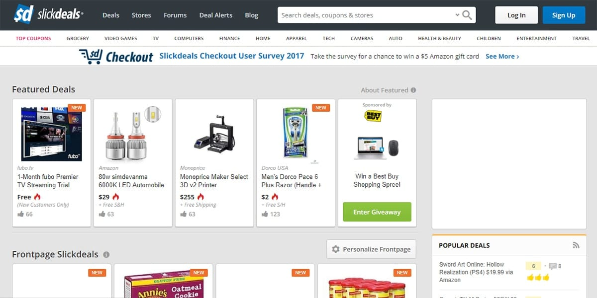 20 Best Coupon Sites SlickDeals