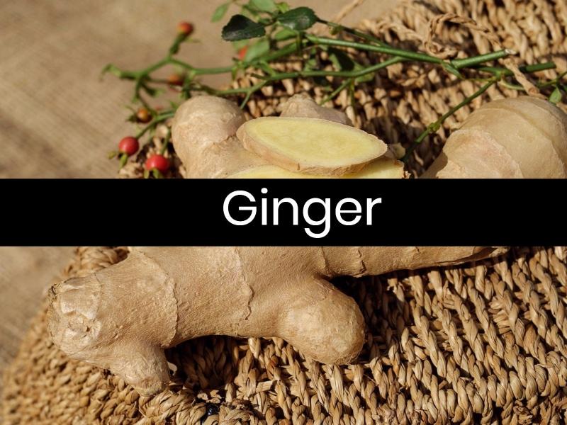5 Foods Help Migraines Ginger