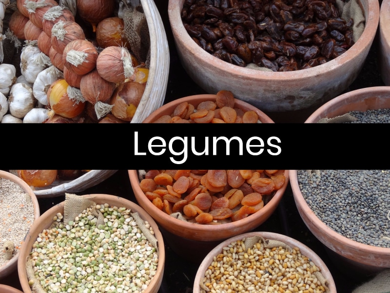 5 Foods Help Migraines Legumes