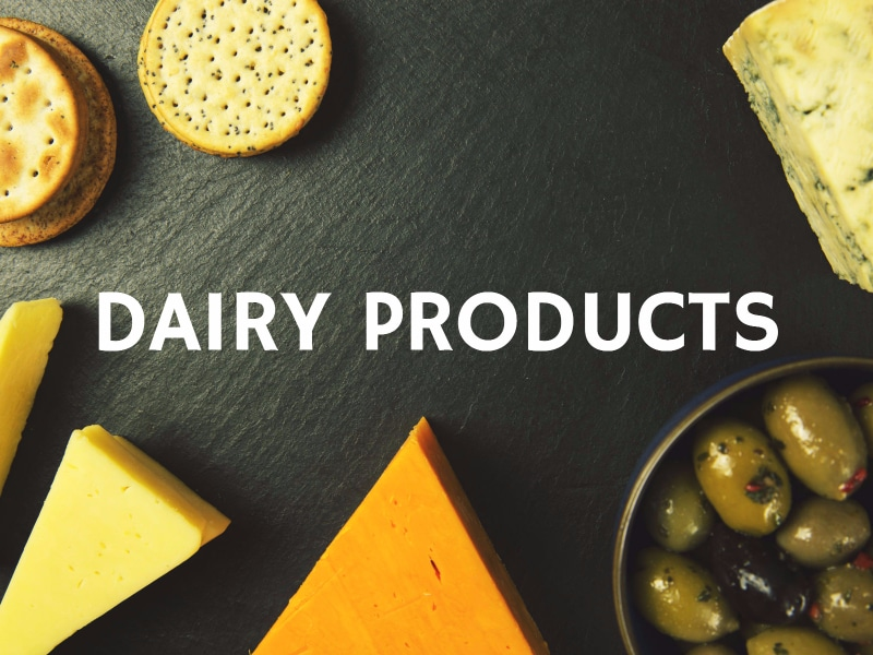 6 Natural Fat Burners Dairy Products