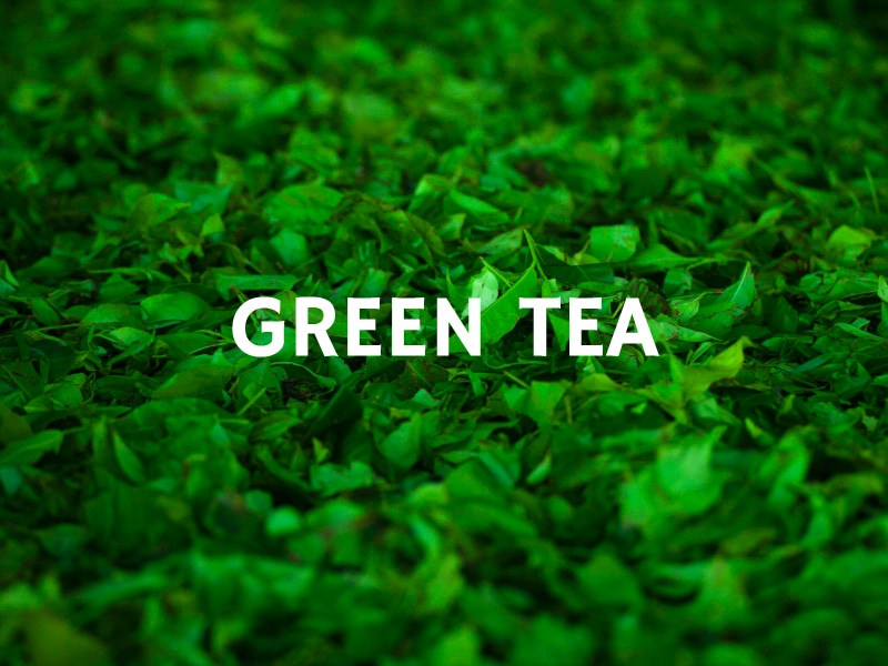 6 Natural Fat Burners Green Tea