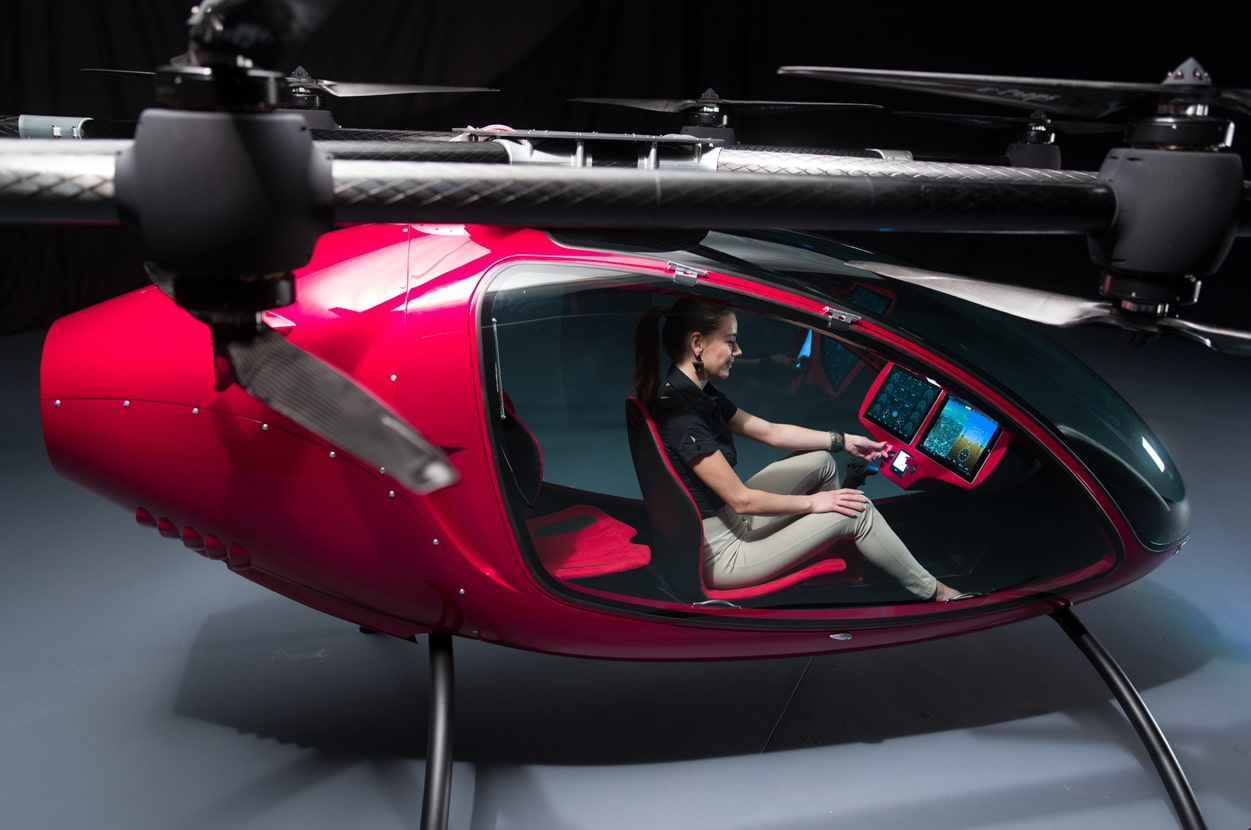 Passenger Drone – The New Way To Commute Through The Skies Is Here