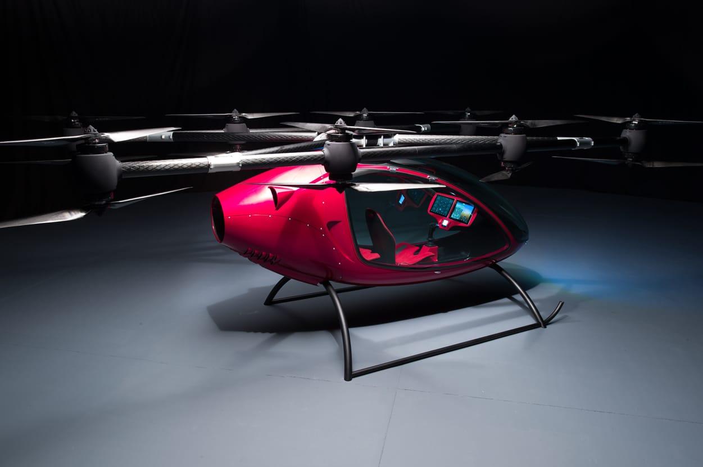 Passenger Drone Autonomous Passenger Drone Image 2