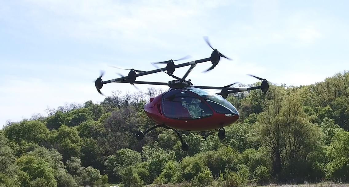 Passenger Drone Autonomous Passenger Drone Image 4