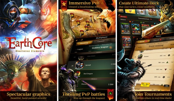 Top 5 Card Games Earthcore