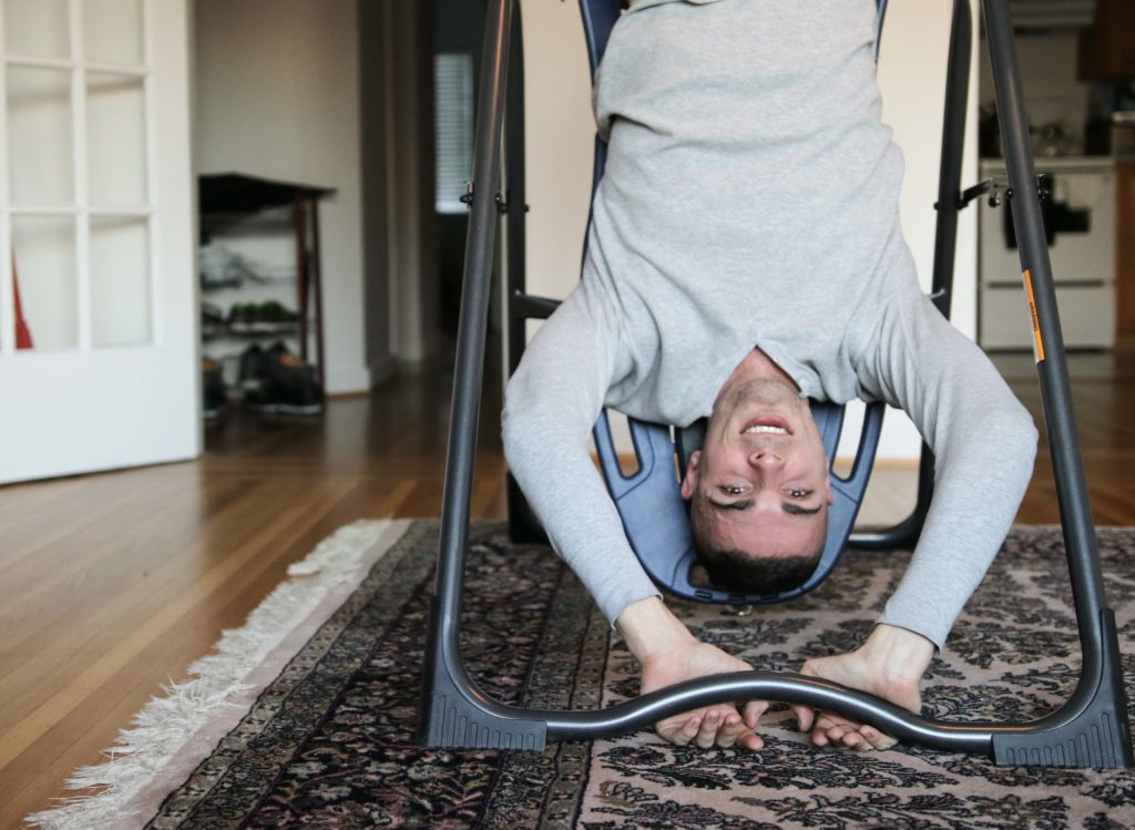 Inversion Table Therapy Header Image