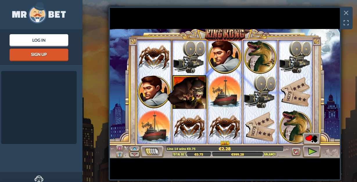 Online Betting King Kong Article Image